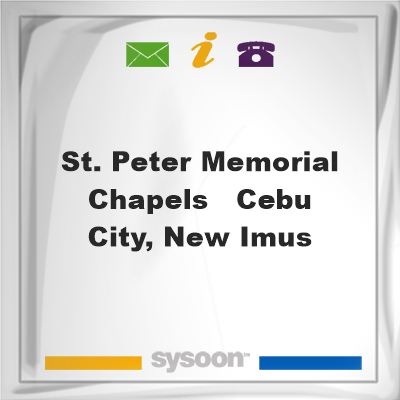 St. Peter Memorial Chapels - Cebu City, New Imus