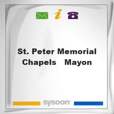 St. Peter Memorial Chapels - Mayon