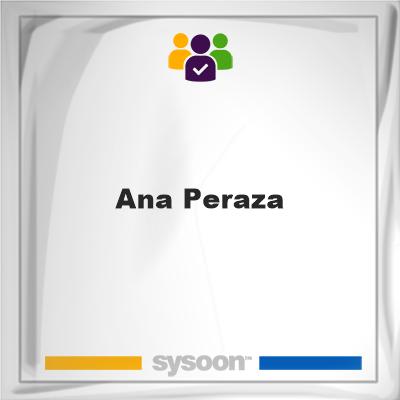 Ana Peraza, member, cemetery