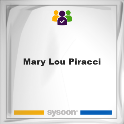 Mary Lou Piracci, member, cemetery