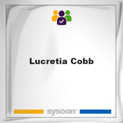 Lucretia Cobb , member, cemetery