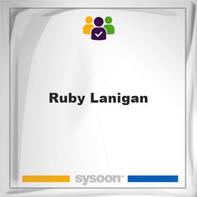 Ruby Lanigan, member, cemetery