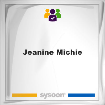 Jeanine Michie, member, cemetery