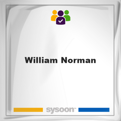 William Norman, member, cemetery