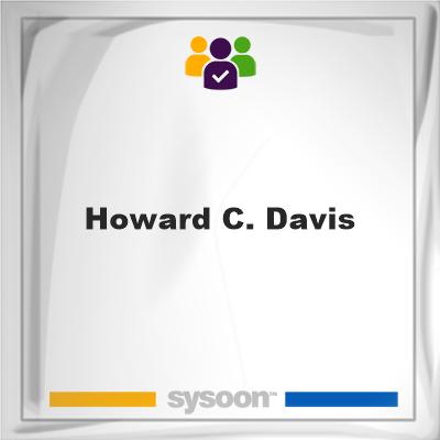 Howard C. Davis, member, cemetery